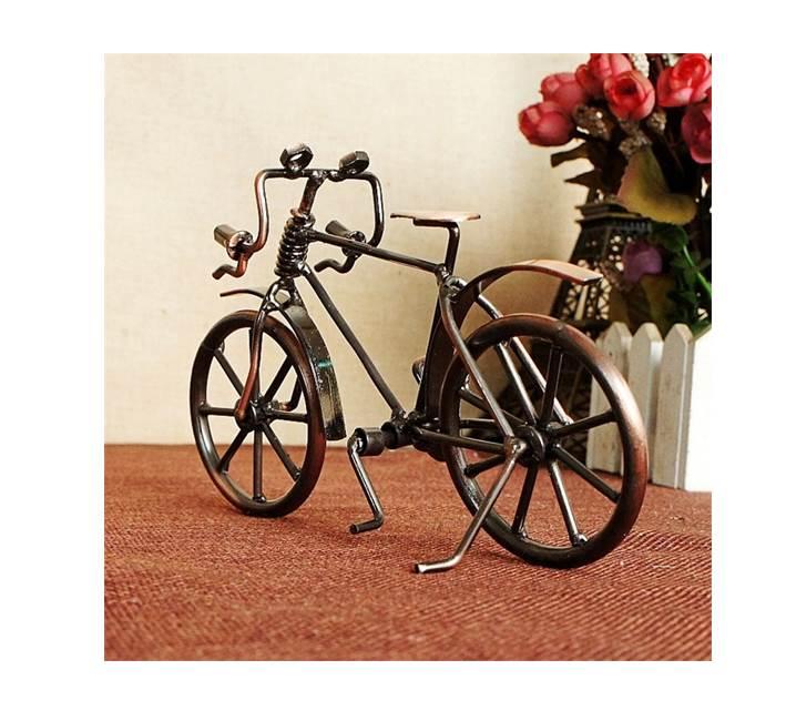Antique Bike Model Metal Craft Miniature