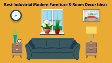 Best Industrial Modern Furniture & Room Decor Ideas