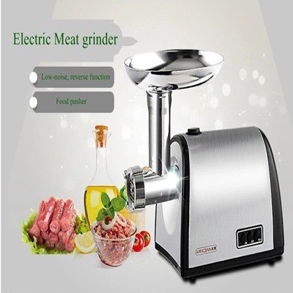 Electric Meat grinder with Exchangeable 3 Cutting