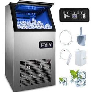 Happybuy 110v Commercial Ice Maker