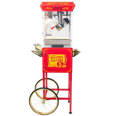 FunTime 8oz Red Popcorn Popper Machine Maker