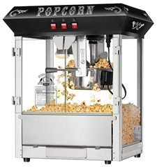 Hot and Fresh Countertop Style Popcorn Popper Machine-Makes Approx. 3