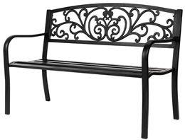 VINGLI 50inch Patio Park Garden Bench