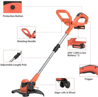 PAXCESS 10-Inch String Trimmer