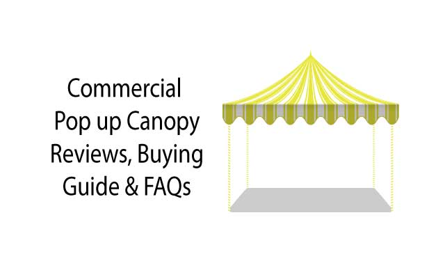 Commercial pop up canopy reviews