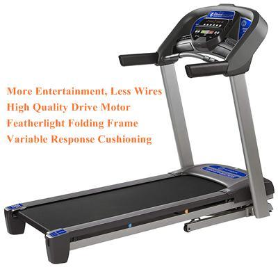 Horizon Fitness T101 Stream Workout Smart Bluetooth Treadmill