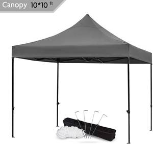 Snail 10x10-FT Easy Pop up Canopy