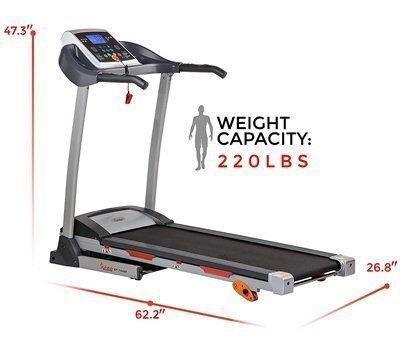 Sunny Health and Fitness Treadmill Running Machine