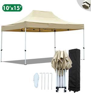 kdgarden 10x15 Ft. Premium Easy Pop up Canopy