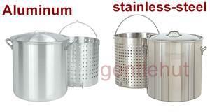 Aluminum vs stainless-steel