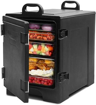 COSTWAY Insulated Food Pan Carrier