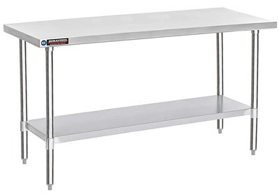 DuraSteel Stainless Steel Work Table