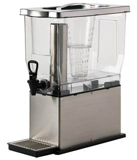 Service Ideas CBDT3SS Cold Beverage Dispenser, 3 Gallon
