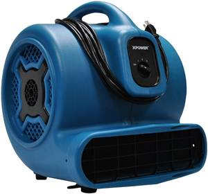 XPOWER X-830 1 HP 3600 CFM 3 Speed Professional Air Mover