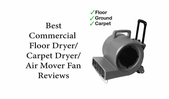 Floor Dryer Fan