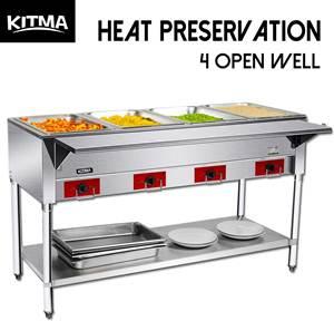 Kitma 4 Pot Commercial Food Warmer