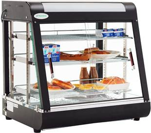 SUNCOO 27'' Commercial Food Warmer Display Case