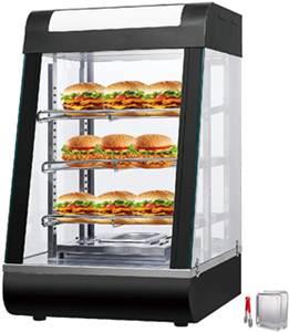 VEVOR 110V 15-Inch Commercial Food Warmer Display