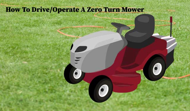 How to Operate a Commercial Zero Turn Mower