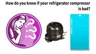 how do you know if your refrigerator compressor is bad?