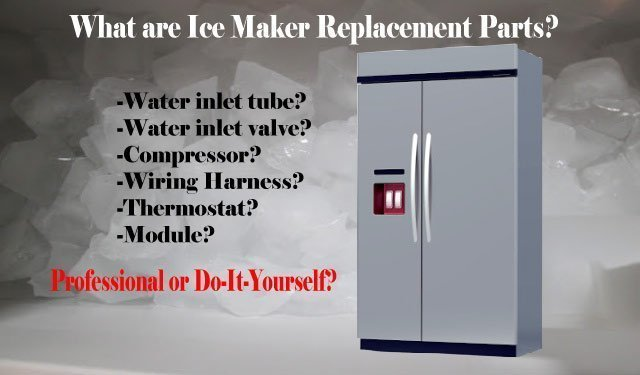 Ice Maker Replacement Parts